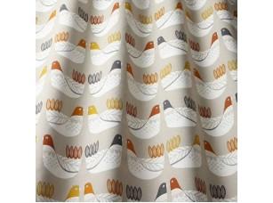 Nordic / Cluck Cluck Tangerine ткань
