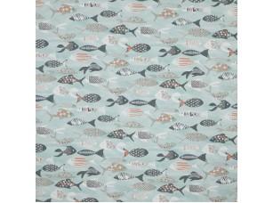 Sea and Sand / Shoal Aqua ткань
