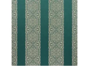 Isadore / Brocade Stripe Teal ткань