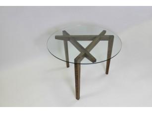 Дизайнерский стол из дуба Темный Stativ