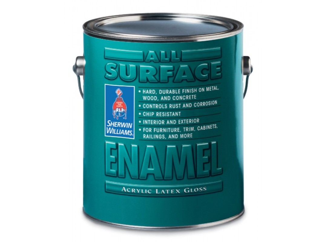 Универсальная эмаль для дерева и металла All Surface Enamel Acrylic Latex