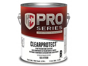H&C® ClearProtect Water-Based Polyurethane Clear Coat(3,8)