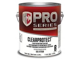 Лак H&C® ClearProtect Water-Based Polyurethane Clear Coat для бетонных полов и оснований из бетона и каменной кирпичной кладки (3,8)