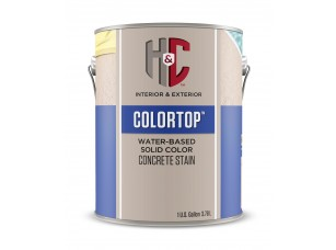 Sherwin-Williams H&C®Colortop Concrete Stain Water Based (Clear)