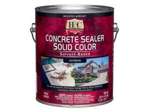 H&C® Concrete Sealer Solvent Based (Clear) (3,8)