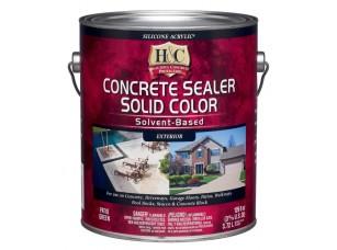 Защитно-декоративная пропитка для бетона H&C® Concrete Sealer Solvent Based (Clear) (3,8)