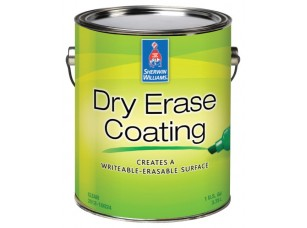 Маркерная краска Sherwin Williams Dry Erase Coating 0,9l