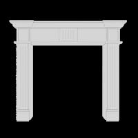 Декоративные каминные порталы