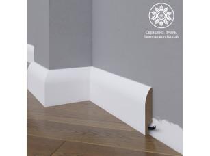 Белый плинтус  Madest Decor МДФ 18-083-16 окрашенный