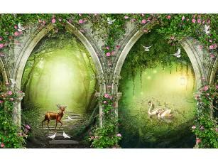 Фотообои «Арки в чудный лес»