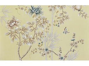 Фотообои «Бабочки среди стеблей»
