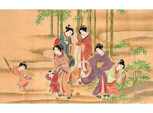 Фотообои «Азиатские костюмы»