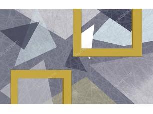 Фотообои «Абстрактная  текстура гранж, геометрические фигуры»