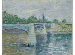 Фотообои «Ван Гог. Сена с мостом Гранд-Жатт»