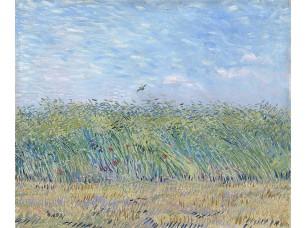 Фотообои «Ван Гог. Пшеничное поле с жаворонком»