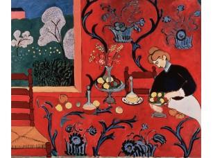 Фотообои «Матисс Анри. Красная комната (Гармония в красном)»