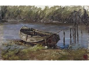 Фотообои «Аэс Карлос де. Лодка в озере Голландии»