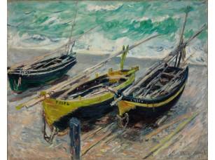 Фотообои «Клод Моне. Рыбацкие лодки»