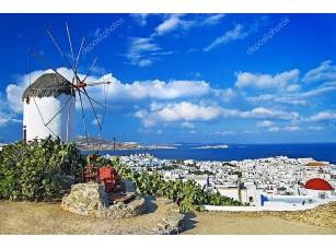 Фотообои «Солнечный греческий остров»