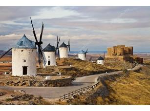 Фотообои «Традиционная Испания - ветряные мельницы»
