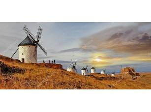 Фотообои «Ветряные мельницы в Испании Консуэгра»