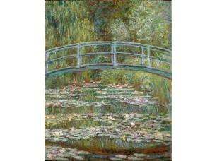 Фотообои «Клод Моне. Мост на пруду с кувшинками»