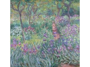 Фотообои «Клод Моне. Сад с ирисами в Живерни»