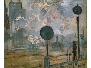 Фотообои «Клод Моне. Вокзал Сен-Лазар, сигналы»