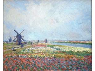 Фотообои «Клод Моне. Поля тюльпанов возле Гааги»