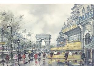 Фотообои «Дождливый день в прекрасном Париже»
