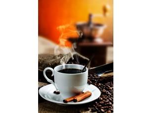 Фотообои «Ароматный кофе в белой кружке»