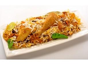Фотообои «Блюдо с рисом и курицей»