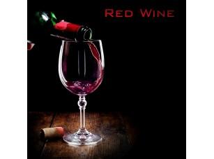 Фотообои «Бокал красного вина на черном фоне»