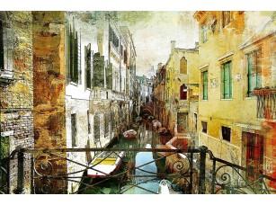 Фотообои «Вид с балкона на канал Венеции»