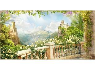 Фотообои «Вид на замки с балкона»