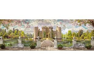 Фотообои «Вид с террасы на большой дворец»