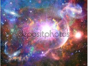 Фотообои «Абстрактный космический фантазия»
