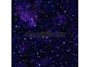 Фотообои «Бесшовный узор, напоминающий ночного неба со звездами»