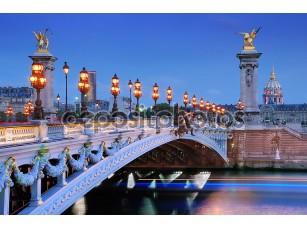 Фотообои «Alexander iii мост»