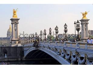 Фотообои «Pont Александр 3 - Париж»