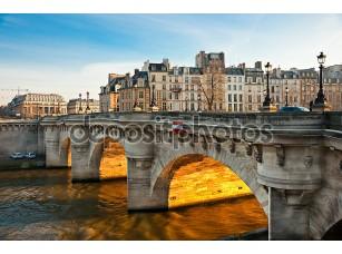 Фотообои «Pont neuf, ссылаются на Иль-де-ла, Париж - Франция»