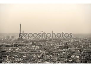Фотообои «Парижский городской пейзаж»