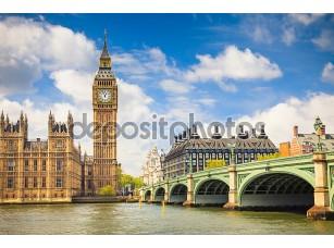 Фотообои «Биг-Бен и палата общин и палата лордов»