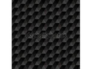 Фотообои «3D черные кубы»