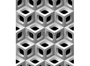 Фотообои «3D решетки бесшовный фон»