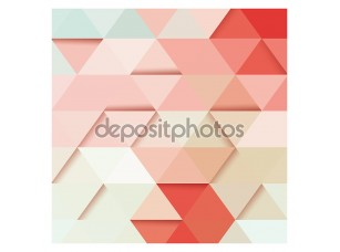 Фотообои «Абстрактные геометрические красочный фон, 3d, дизайн элементы узора, векторные иллюстрации»