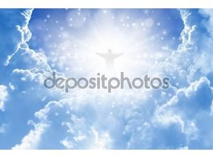 Фотообои «Христос в небе»