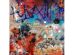 Фотообои «Graffiti Background»