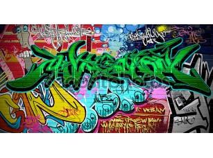 Фотообои «Graffiti wall vector urban art»