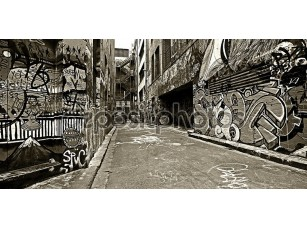 Фотообои «High Contrast Graffiti»